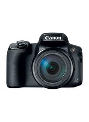 كانون Power Shot SX70 HS كاميرا ديجيتال, 20.3 ميجابكسل, 4K, اوبتيكال زوم 65x, اسود