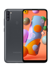Samsung Galaxy A11 32GB Black, 2GB RAM, 4G LTE, Dual Sim Smartphone