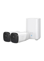 Eufy Cam 2 Wireless Home Security Camera with 365-Day Battery Life, White