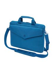 Dicota Slim Case Code 15-inch Messenger Laptop Bag, Blue