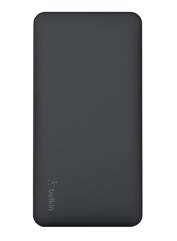 Belkin 10000mAh Pocket Power F7U039BTBLK Fast Charging Portable Power Bank, Black