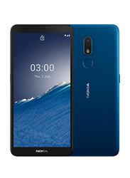 Nokia C3 16GB Nordic Blue, 2GB RAM, 4G LTE, Dual Sim Smartphone