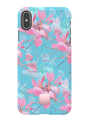 Happy Plugs Apple iPhone XS Max Protective Mobile Phone Case Cover, Botanica Exotica