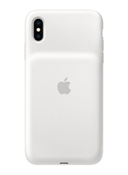 Apple Smart Battery Silicone Case for Apple iPhone XS Max, White