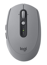 Logitech M590 Silent Wireless Optical Mouse, Mid Grey
