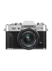 Fujifilm X-T30 Mirrorless Digital Camera with 15-45mm Lens, 26.1 MP, 4K, Silver