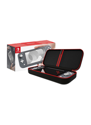 Nintendo Switch Console with Travel Case Bundle, Lite Grey