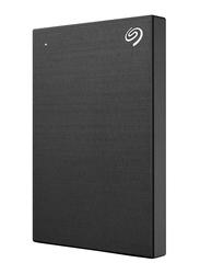 Seagate 1TB HDD Backup Plus Slim STHN1000400 External Portable Hard Drive, USB 3.0, Black