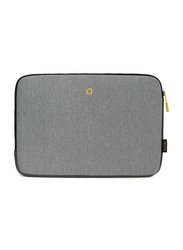 Dicota Skin Flow 13-14.1-inch Sleeve Laptop Bag, Grey/Yellow