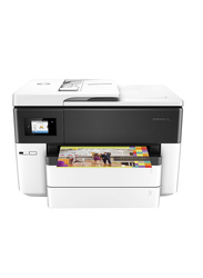 HP OfficeJet Pro 7740 G5J38A All-in-One Printer, White/Black
