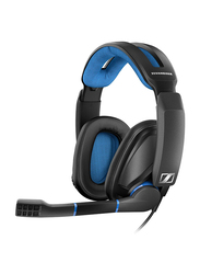 Sennheiser GSP 300 Over-Ear Noise Cancelling PC, Mac, PS4 & Multi-Platform Gaming Headset, with Mic, Black