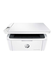 HP LaserJet Pro M28w W2G55A Multi-Function Laser Printer, White