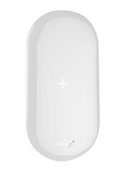 Mipow 5000mAh Power Cube X SPQ07 Fast Charging Portable Charger, White