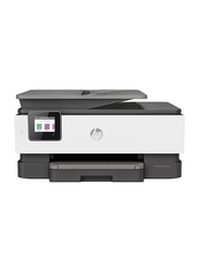 HP OfficeJet Pro 8023 1KR64B All-in-One Printer, White/Black