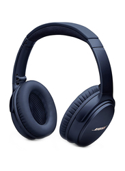 Bose QuietComfort 35 Series II Wireless Over-Ear Noise Cancelling Headphones, Midnight Blue