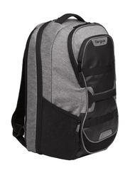Targus Work+ Play Fitness 15.6-inch Backpack Laptop Bag, Grey