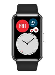 Huawei Watch Fit Smartwatch, GPS, Graphite Black