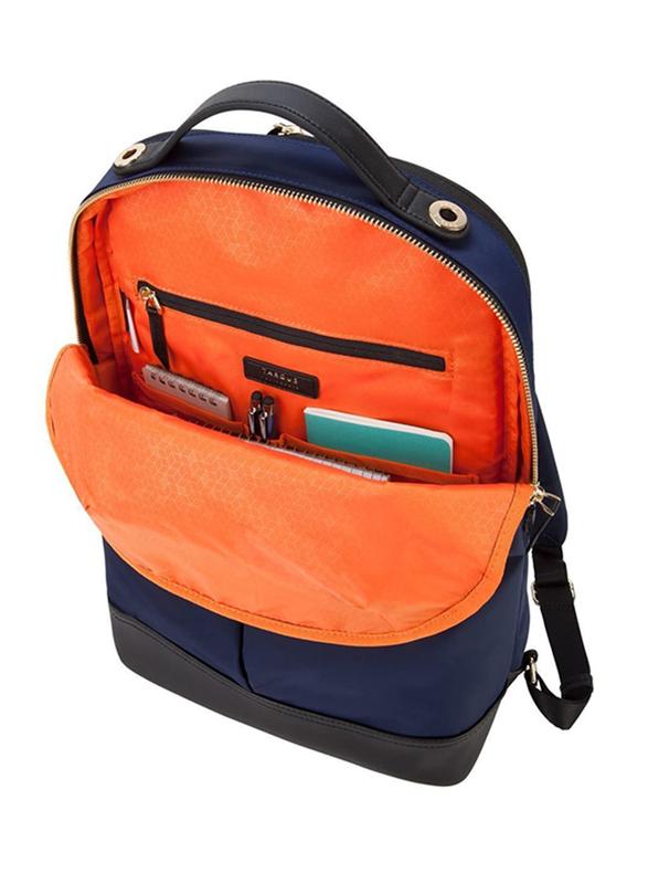 Targus Newport 15-inch Backpack Laptop Bag, Water Resistance, Navy
