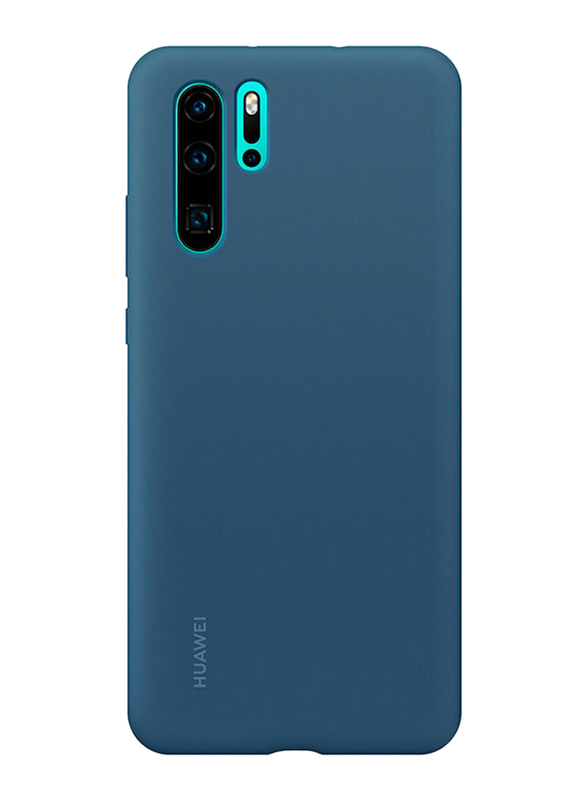 Huawei Back Case Cover for Huawei P30 Pro Mobile Phone, Blue