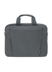 Dicota Slim Case Base 15-15.6-inch Messenger Laptop Bag, Grey