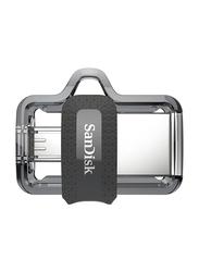 Sandisk 64GB Ultra Dual Drive USB Flash Drive, Black