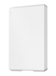 LaCie 1TB HDD External Mobile Hard Drive, USB 3.1/Type-C, STHG1000400, Moon Silver