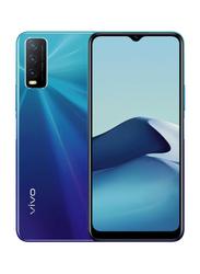 Vivo Y20 64GB Blue, 4GB RAM, 4G LTE, Dual Sim Smartphone