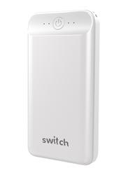 Switch 20000mAh Go Max 18W USB & Type-C PD Power Bank, White