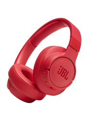 JBL Tune 750BTNC Wireless On-Ear Noise Canceling Headphones with Mic, Coral