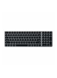 Satechi Compact Backlit Bluetooth Wireless English Keyboard, Space Grey