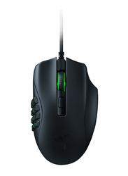 Razer Naga X Ergonomic MMO Wired Optical Gaming Mouse, Black