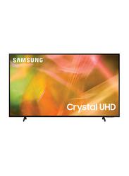 Samsung 55-Inch Flat Dynamic 4K Crystal Ultra HD Smart LED TV, AU8000, Black