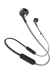 JBL T205BT Wireless In-Ear Headphones, Black