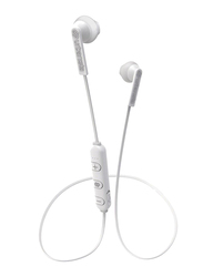 Urbanista Berlin Fluffy Cloud In-Ear Bluetooth Headphones, with Mic, White