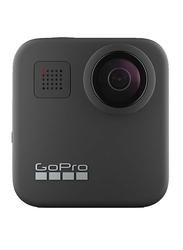 GoPro Hero Max Action Camera, 12 MP, 4K, Water Resistant, Black