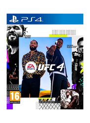 UFC 4 Video Game for PlayStation 4 (PS4) by EA Sports