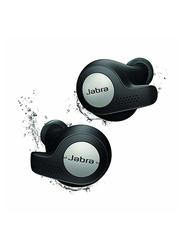 Jabra Elite Active 65t True Wireless In-Ear Sports Earbuds with Mic, Alexa Enabled, Titanium Black