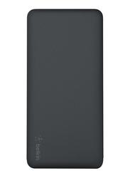 Belkin 15000mAh Pocket Power F7U021BTBLK Fast Charging Portable Power Bank, Black