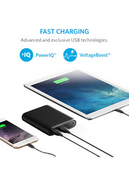 Anker 10400mAh PowerCore Fast Charging Power Bank with Micro-USB Input, Black