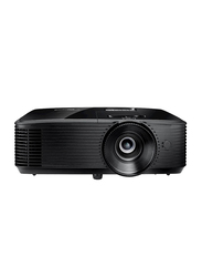 Optoma HD144X FHD DLP Wireless Portable Home Entertainment Projector, 3400 Lumens, Built-in Speaker, Black