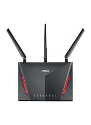 Asus GT-AC2900 Gaming Wireless Dual band Gigabit Wi-Fi Router, Black