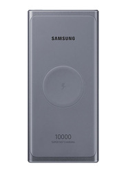 Samsung 10000mAh Wireless Super Fast Charging Power Bank with Type-C USB Input, Grey