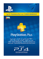 PlayStation Plus PSPLUS365DAYS 365 Day Membership Card for PlayStation PS4, Blue