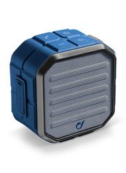 Cellularline Muscle Universal Portable Wireless Bluetooth Speaker, 3W, Blue