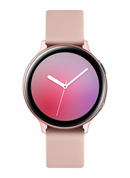 Samsung Galaxy Active 2 - 44mm Smartwatch, GPS, Pink Gold Aluminium Case with Pink Fluorcelastomer Band