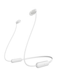 Sony WI-C200 Wireless In-Ear Bluetooth Headphones, White