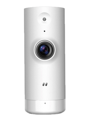 D-Link Mini WiFi Indoor Security Camera, 720p, HD, White