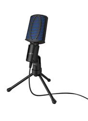Hama uRage Stream 100 Gaming Microphone for Windows 10/8/7, Blue/Black