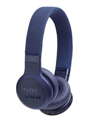 JBL Live 400BT Wireless Over-Ear Headphones, Blue