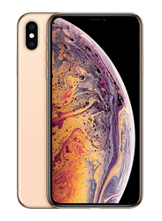 Apple iPhone XS 256GB Gold, Without FaceTime, 4GB RAM, 4G LTE, Dual Sim Smartphone